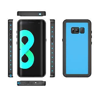 Vedenpitävä kuorikotelo Samsung Galaxy S8 + / S8 Plus -laitteelle - sininen
