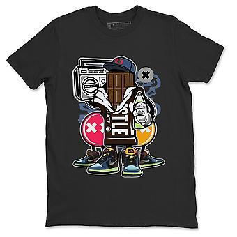 チョコレートスクワッドヨルダン1東京バイオハックスニーカーTシャツ - AJ1衣装