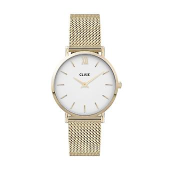 Cluse Unisex Minuit Gold Circle Quartz Fashion Watch CW0101203007
