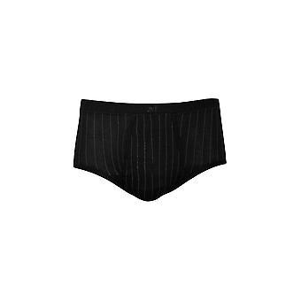 Pinstriped ذبابة الجبهة موجز زائد - الرجال الملابس الداخلية