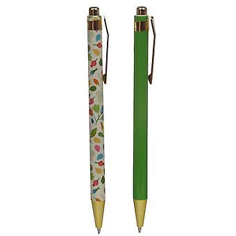 Ensemble jumeau de stylo - chutes d'automne