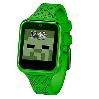 Minecraft Creeper Symbool Accutime Interactieve Kinderen Horloge