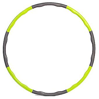 Mousse Hula Hoop, Exercice de taille, Abdomen, Adulte Détachable Hula Hoop Fitness Ring