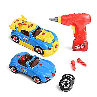 2 In 1 Electric Drill Screw, Nut Aassembly Match Toy