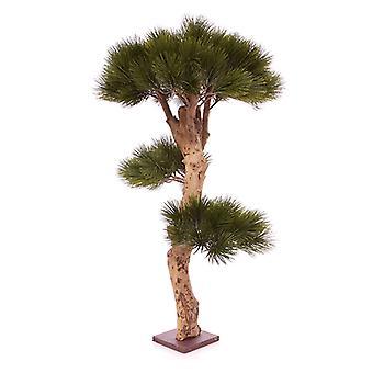 Pino artificiale articiale (Pinus) Bonsai albero 85 cm sulla base