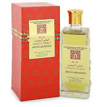 Layali El Rashid By Swiss Arabian Concentrated Perfume Oil Free From Alcohol (unisex) 3.2 Oz (women) V728-552088