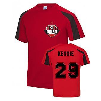 Franck Kessie AC Milan Sport Training Jersey (Punainen)