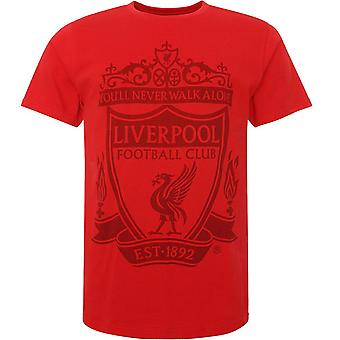 Liverpool FC miesten Crest T-paita