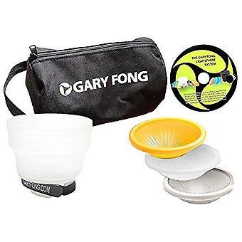 Gary fong Hochzeit Event Flash Modifizieren Kit (weiß/grau/Bernstein)