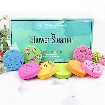 8pcs Złuszczanie Anti-zmęczenie Pielęgnacja skóry Produkty Body Cleaner Bath Bubble Bomb Kit Shower Bombs Ball Body Spa Cleaner