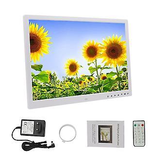 Hd 1440*900 64g Digital Photo Frame Electronic Album 17 Inches (white Eu Plug)