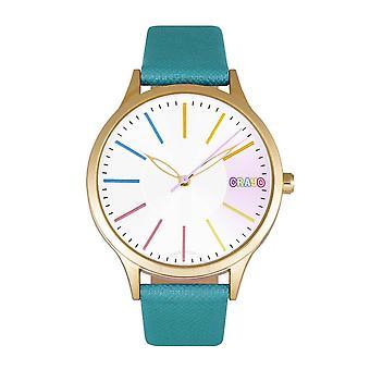 Crayo Gel Silver Dial Watch CRACR5104