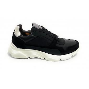 Pantofi pentru barbati Ambitioasa 9509 Sneaker Color Black Bottom High U21am04