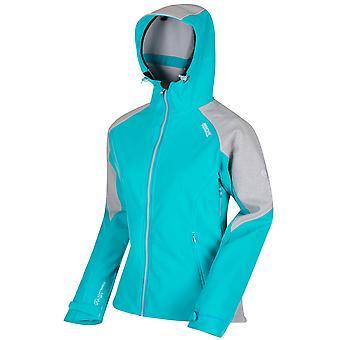 Regatta Great Outdoors Womens/Ladies Desoto III Wind Resist Hooded Softshell Reflective Jacket