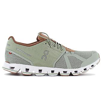 ON Running Cloud W - Women's Running Shoes Green 19.99694 Sneakers Sports Shoes