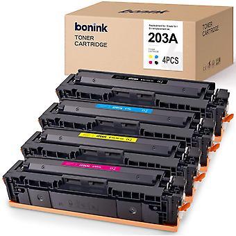 Wokex 4 Toner Kompatibel fr HP Color Laserjet Pro MFP M281FDW M281FDN M280NW M254NW M254DW