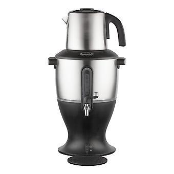 Samowar black 3.5l with stainless steel jug
