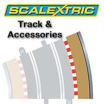 Scalextric Track - Radius 3 buitenste rand/barrière-22.5o