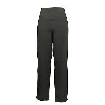 Women with Control Women's Pants Reversible Slim Leg Grey A390041