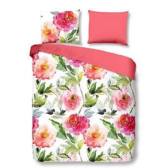 Sängkläder rosa 140 x 220 cm