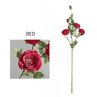 Artificial Imitation Rose Flower Home Decro Wedding Party Gift