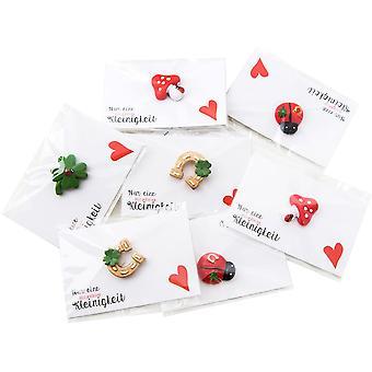 HanFei 10 kleine Geschenke Glcksbringer mini Hufeisen Marienkfer Hufeisen Prsent Kinder Mitarbeiter