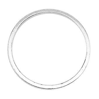Beadalon Silver pläterade snabblänkar 20mm Rund (22 st)