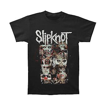 Men's Slipknot Creatures and Pentagram Black Crew Neck T-Shirt