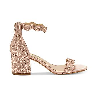 INC International Concepts Women's Shoes Hadwin2 Fabric Open Toe Special Occasion Ankle Strap Sandals