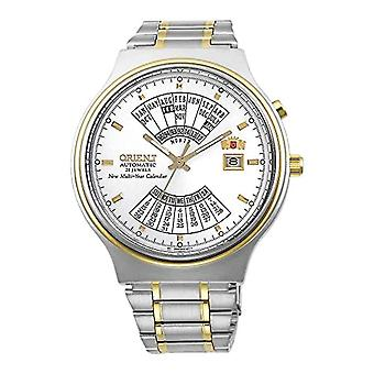 Orient Analog Men's Automatic Watch with Stainless Steel Strap FEU00000WWW