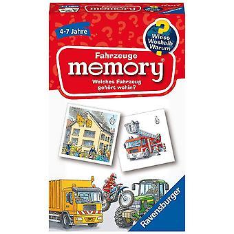 20647 - Fahrzeuge Erinnerung Wieso? Weshalb? Warum? der Spieleklassiker für 2-8 Spieler, Kinderspiel für