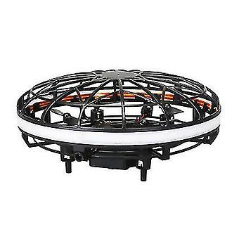 Levitação rica negra a gravidade do drone desafiando a suspensão manual helicóptero x2137
