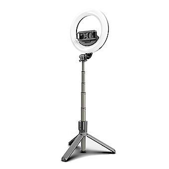 Selfie Stick Ring Light With Tripod Stand Mobile Phone Holder For Iphone 11