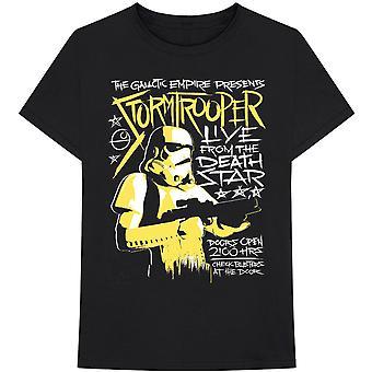 Star Wars - Stormtrooper Rock Miesten keskikokoinen T-paita - Musta
