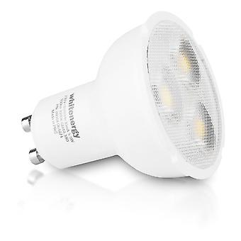 Whitenergy Dimmable LED Bulb | 6X Smd 3030 LED | Mr16 | Gu10 | 5.5W| 230V | White Warm