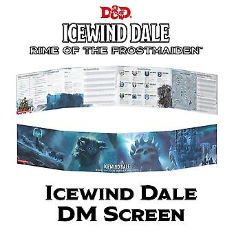 Dungeons & Dragons - Icewind Dale: Rime of the Frostmaiden DM Screen