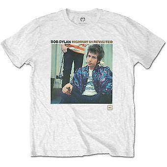 Bob Dylan - Highway 61 Revisited Unisex Large T-Shirt - Blanco