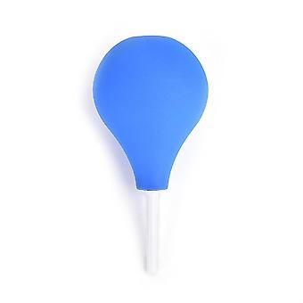 Système de nettoyage de douche rectale en forme de poire Gel de silicone Boule bleue