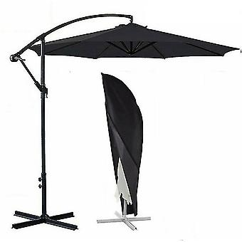 Waterproof Large Oxford Cloth Parasol Cover Banana Umbrella Cover(S 205cm*57cm)