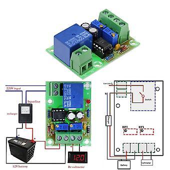 12V riadiaca doska nabíjania batérie xh-m601 inteligentná nabíjačka napájací ovládací panel automatické nabíjanie
