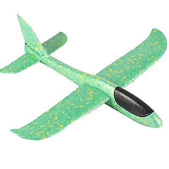 Hračky pro děti v letadle, létající letadla pro chlapce dívky (zelená)