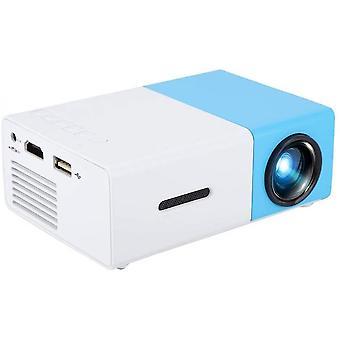 1080p HDMI HDMI USBオーディオポータブルホームメディアビデオプレーヤーミニプロジェクター