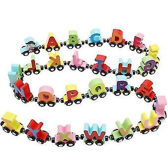 قراءة اللعب المغناطيسي عدد الأبجدية الحيوان قطار صغير / سيارات تعليم الأطفال لعبة
