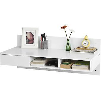 SoBuy Home Office ścianie komputer tabeli biurko, FWT30-W