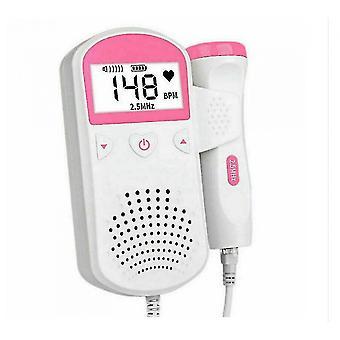 Baby Lcd Ultrasonic Detector Fetal Prenatal Baby Heart Rate Monitor,Allinless