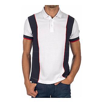 Men's Short Sleeve Polo Shirt Armani Jeans C1100 White