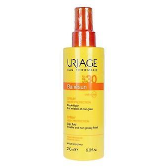 Body Sunscreen Spray Bariésun Nya Uriage spf 30 (200 ml)