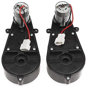 Electric riding vehicles 12v dc motor with gear box for electric car