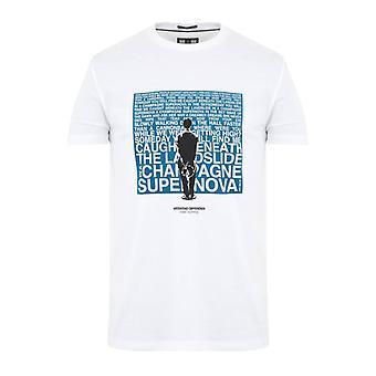 Weekend offender supernova t-shirt - white