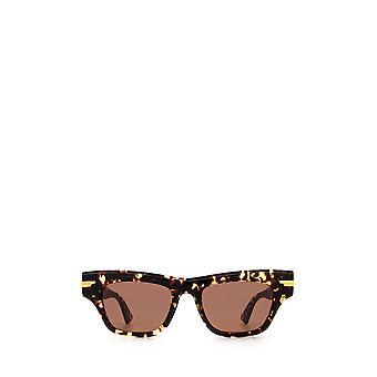 Bottega Veneta BV1122S havana female sunglasses
